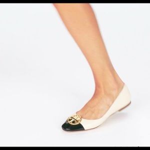 Tory Burch Chelsea  Cup-Toe Ballet Flat